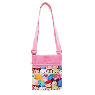 Tsum Tsum Peach Party Sling Bag