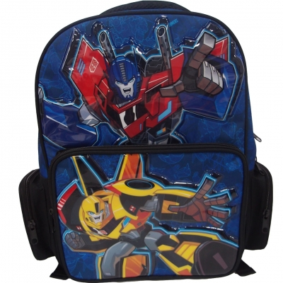 Transformers Power Up Pre School Bag