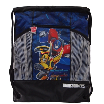 Transformers Power Up Drawstring Bag