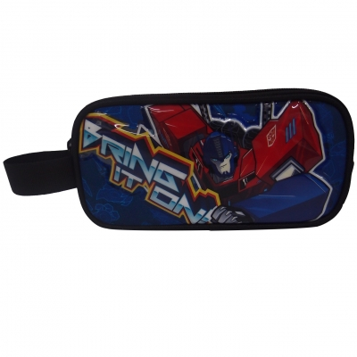 Transformers Power Up Pencil Case Double Zip