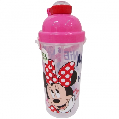 Minnie BPA Free Pop Up Bottle 650ml