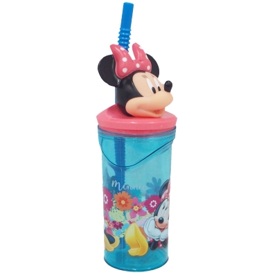 Minnie 3D Figurine Tumbler 360ML