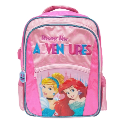 Princess Adventure Awaits School Bag