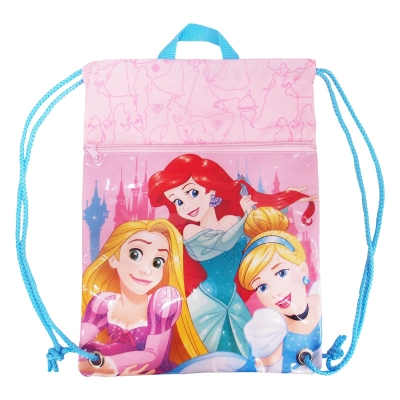 Princess Adventure Awaits Drawstring Bag