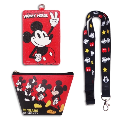 Mickey 90th Card Holder Set of 3